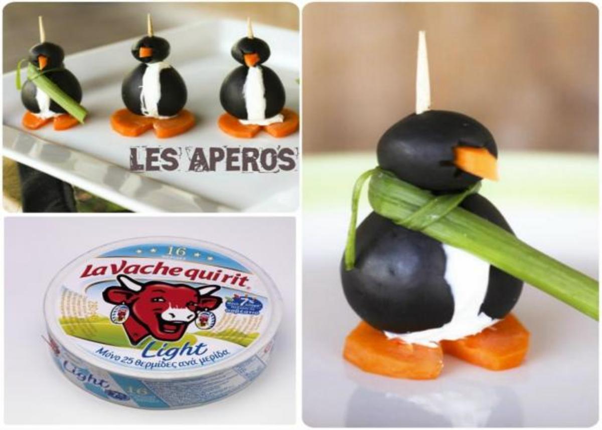 Όταν η φαντασία συναντά την ελαφριά και υπέροχη γεύση! Ιδέες για πεντανόστιμα καναπεδάκια πιγκουινάκια | Newsit.gr