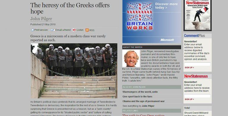 «Η Ελλάδα προσφέρει ελπίδα» | Newsit.gr