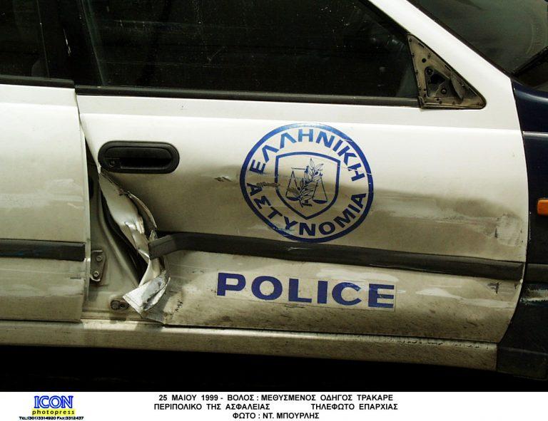 Αστυνομικός οδηγούσε το περιπολικό… τύφλα! | Newsit.gr