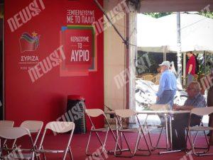 Άδεια τα εκλογικά περίπτερα – Από τη γιορτή… στην απαξίωση – Οι Αθηναίοι γυρνούν την πλάτη στα κόμματα – Φωτογραφίες