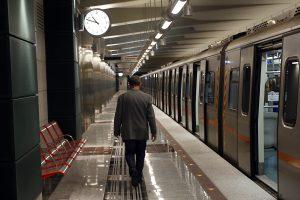 """Απεργία: Ανοιχτός τελικά αύριο ο σταθμός """"Περιστέρι""""  του μετρό"""