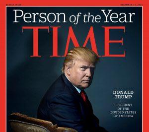 Time: Ο Ντόναλντ Τραμπ πρόσωπο της χρονιάς