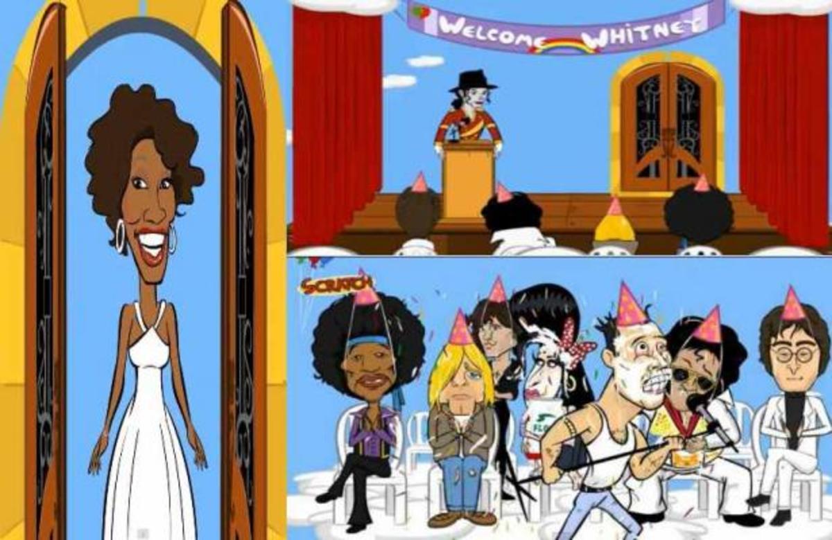 Πως υποδέχτηκαν την Whitney Houston στον παράδεισο; VIDEO   Newsit.gr