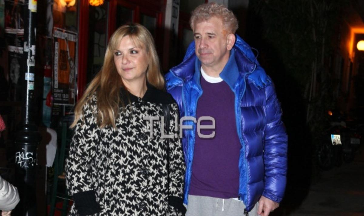 Π. Φιλιππίδης: Βραδινή έξοδος με την σύζυγό του Ε. Νίνου! Φωτογραφίες | Newsit.gr
