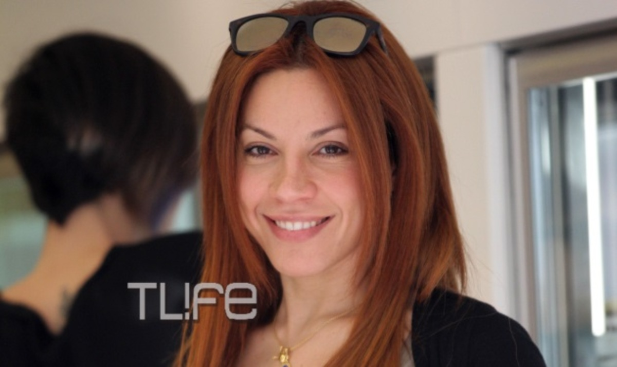 Μ. Πιερίδη: Για ψώνια στη Γλυφάδα, χωρίς ίχνος μακιγιάζ! | Newsit.gr