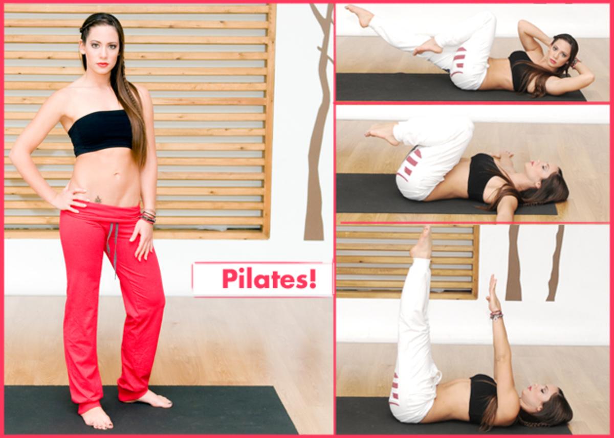 Ασκήσεις pilates για επίπεδη κοιλιά από τη Μάντη Περσάκη! | Newsit.gr