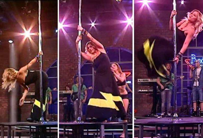 Η Πηνελόπη Αναστασοπούλου κάνει… pole dancing στον Κωστόπουλο!   Newsit.gr