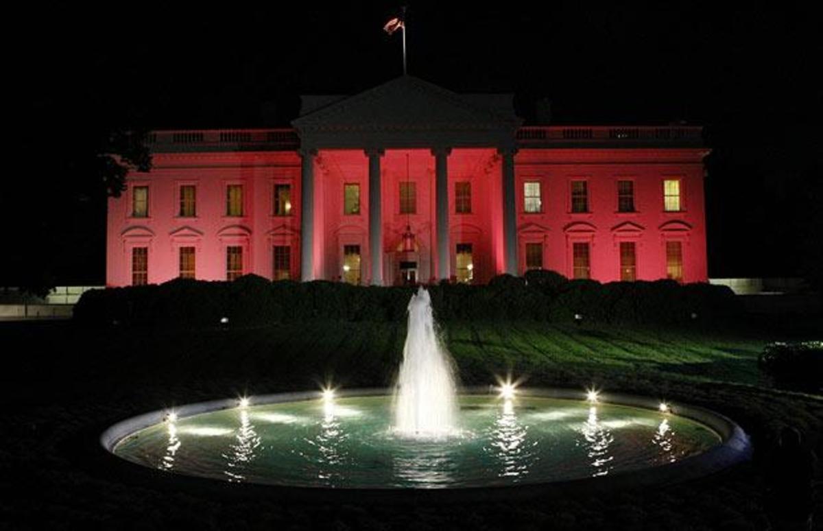 Ο Λευκός Οίκος θα γίνει… ροζ   Newsit.gr