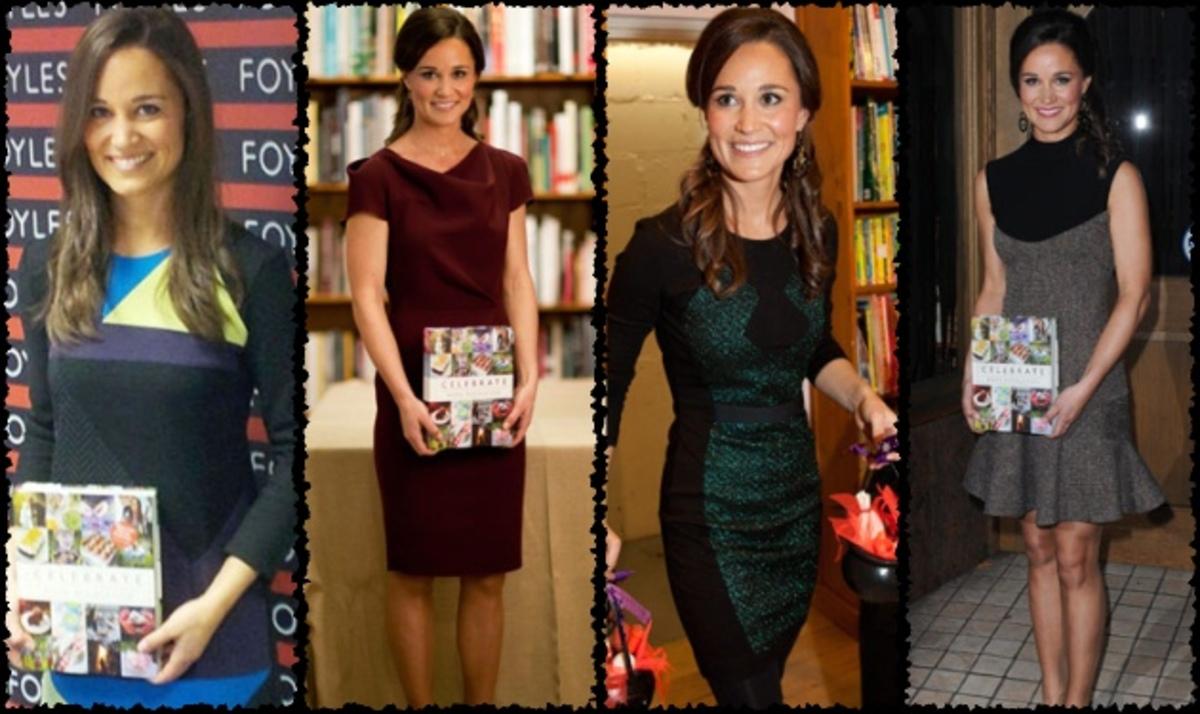 Αληθινή σταρ η P. Middleton! Άλλαξε τέσσερα φορέματα στην παρουσίαση του βιβλίου της   Newsit.gr