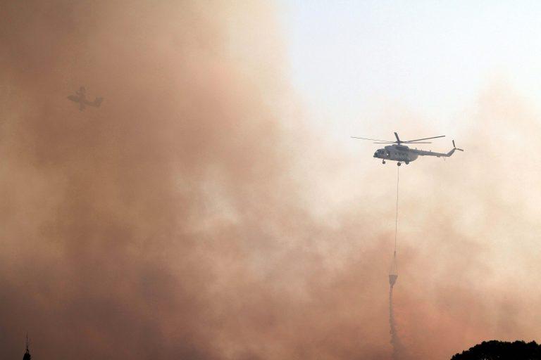 Σε ύφεση η φωτιά στον Κάλαμο – Απειλήθηκαν σπίτια | Newsit.gr