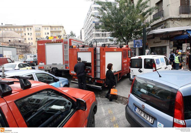 Πυρκαγιά στο κέντρο της Αθήνας   Newsit.gr