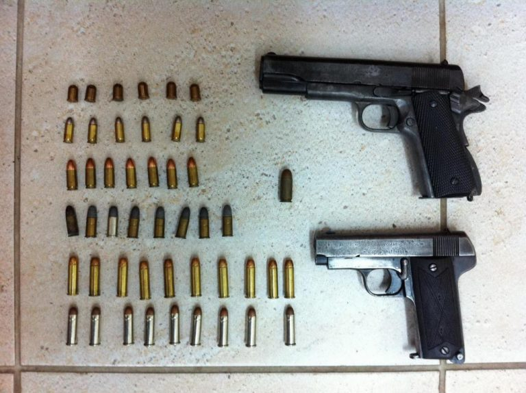 Λέσβος: Ο παππούς έκρυβε… πιστόλια και σφαίρες! | Newsit.gr