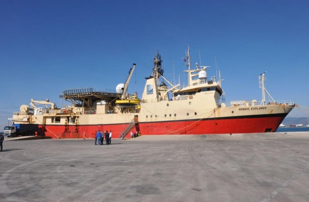Ολοκληρώνονται οι πρώτες σεισμικές έρευνες σε Ιόνιο και Πατραϊκό από το Nordic Explorer | Newsit.gr
