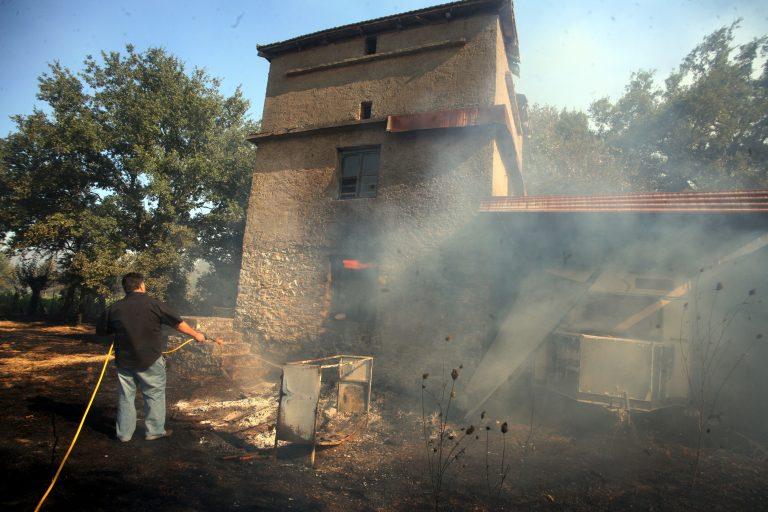 Τραγωδία στη Λέσβο – Νεκροί από πυρκαγιά παππούς, γιαγιά και εγγονάκι | Newsit.gr