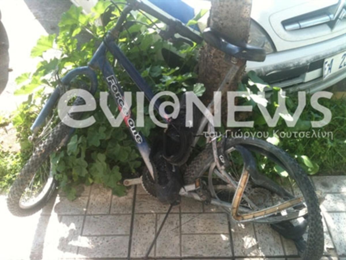 Εύβοια: Ταξί παρέσυρε και σκότωσε νεαρό, που οδηγούσε ποδήλατο – Δείτε φωτό! | Newsit.gr