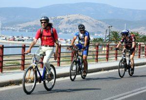 Πορεία ποδηλάτων και πεζοπόρων στην Ουρανούπολη
