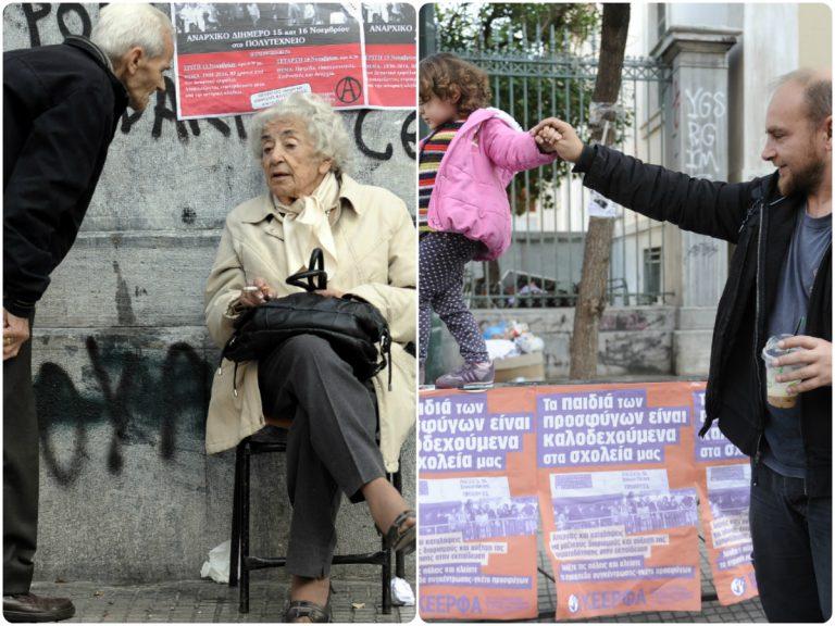 Πολυτεχνείο: Κατάλληλο για ηλικίες από 3 έως… άπειρο! Συγκλονιστικές φωτογραφίες