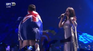 Eurovision 2017: Συνελήφθη ο θεατής που ξεγυμνώθηκε στη σκηνή! [pics]