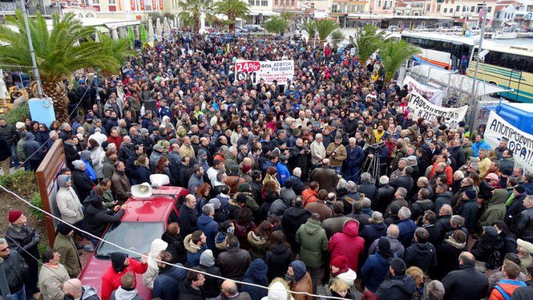 «Νέκρωσαν» τα νησιά του Β. Αιγαίου για τις συγκεντρώσεις λόγω… ΦΠΑ | Newsit.gr