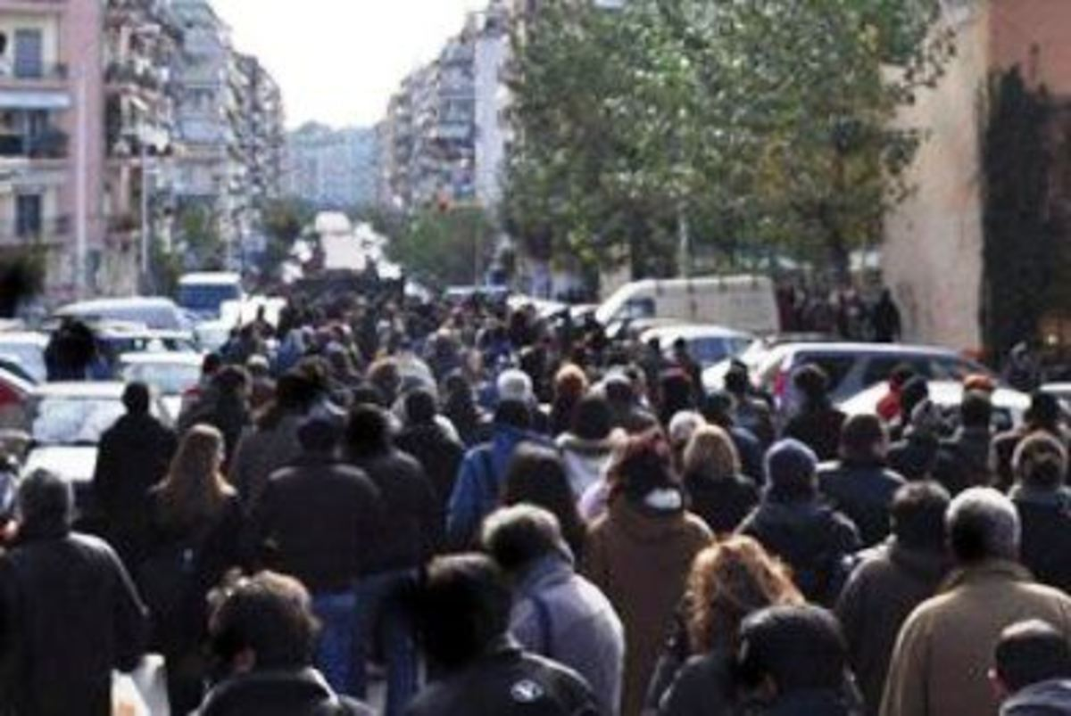 Ηράκλειο: Σε εξέλιξη πορεία αντιεξουσιαστών | Newsit.gr