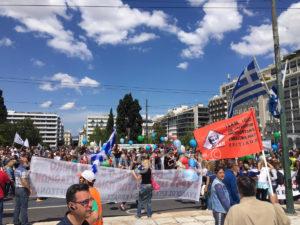 Μπλόκο στο κέντρο της Αθήνας από την ΠΟΕ – ΟΤΑ