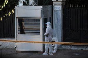 Τρομοκρατική επίθεση με χειροβομβίδα στη Γαλλική πρεσβεία! – Τραυματίας αστυνομικός