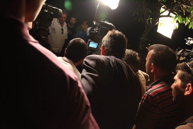 Τι έβλεπαν οι δημοσιογράφοι έξω από το Προεδρικό; (ΦΩΤΟ)   Newsit.gr