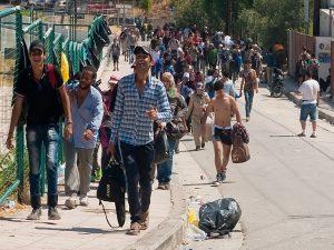 Επταπλάσιος ο αριθμός των μεταναστών που περνά στην Ευρώπη μέσω ξηράς το 2018