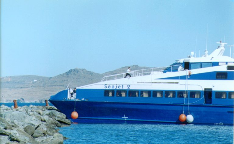 Πρόσκρουση πλοίου στον προβλήτα της Ρόδου | Newsit.gr