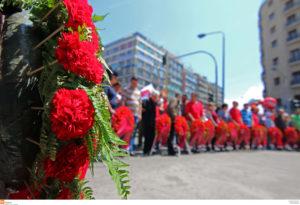 """Πρωτομαγιά: Η ιστορία της Ημέρας του Εργάτη στην Ελλάδα που """"βάφτηκε"""" με αίμα [pic,vid]"""