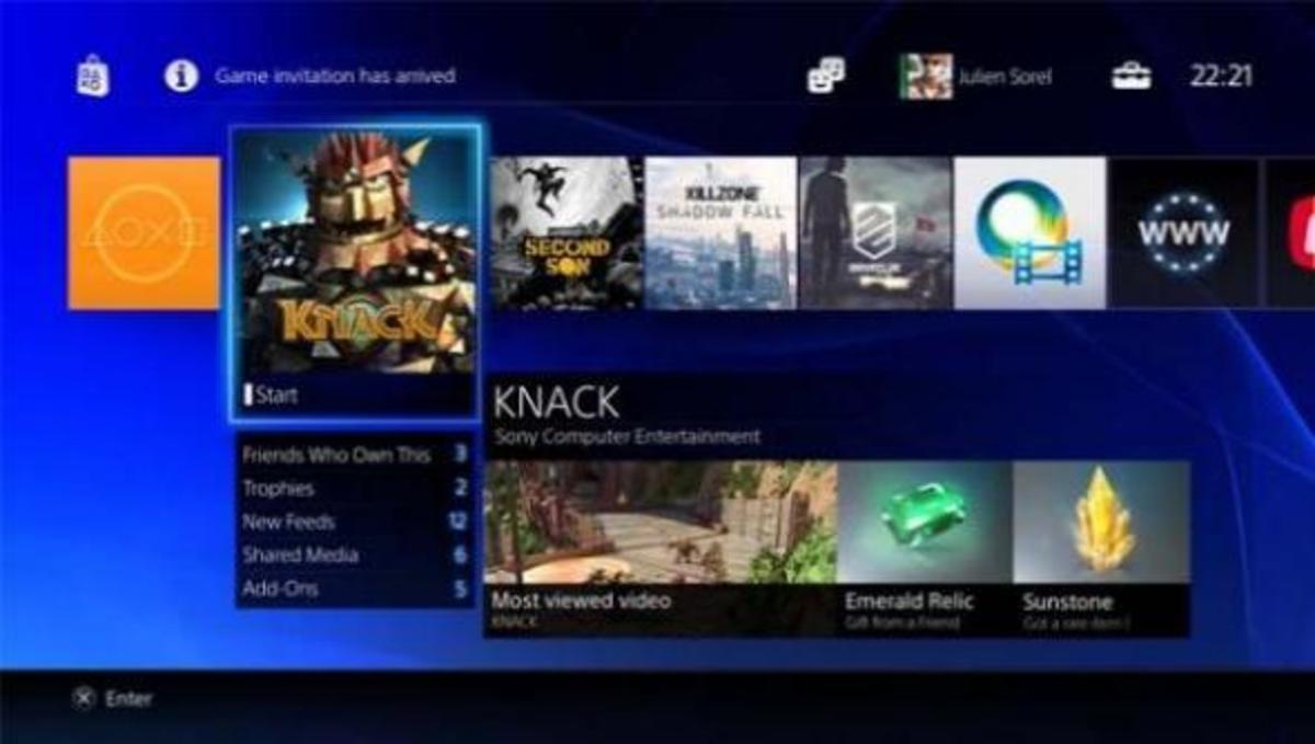 Δείτε πως θα είναι το μενού του νέου PS4 | Newsit.gr