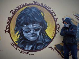 Στάθης Ψάλτης – Εντυπωσιακό graffiti στη μνήμη του [pic]