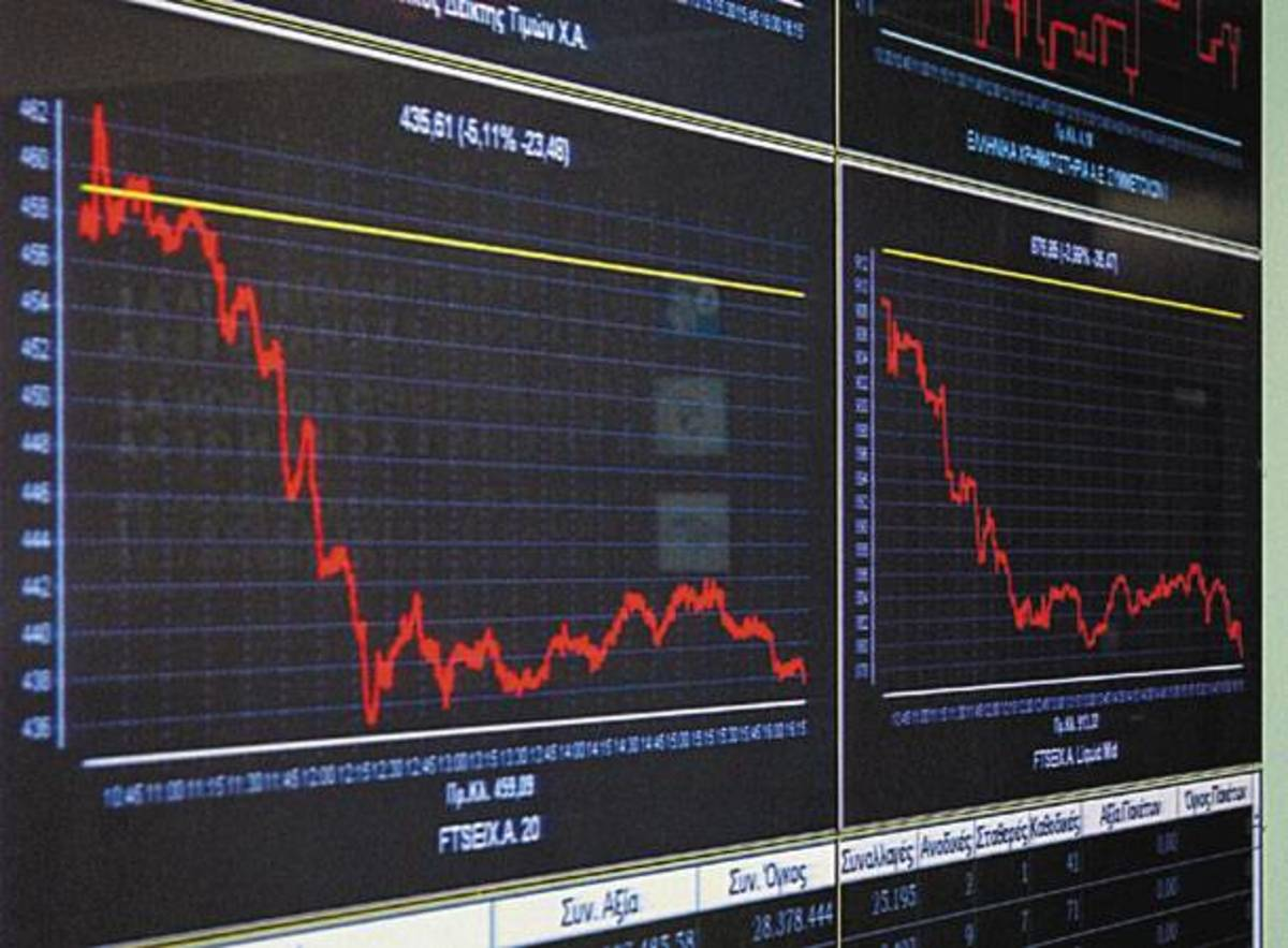 Μεγαλώνει (εως -1,80%) η πτώση στο Χρηματιστήριο | Newsit.gr