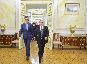 Αλληλοαποθεώθηκαν Πούτιν – Άσαντ για το Χαλέπι