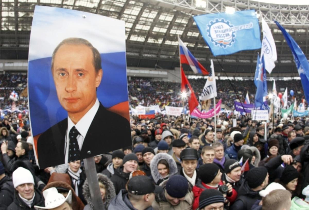 130.000 στο δρόμο υπέρ του Πούτιν | Newsit.gr