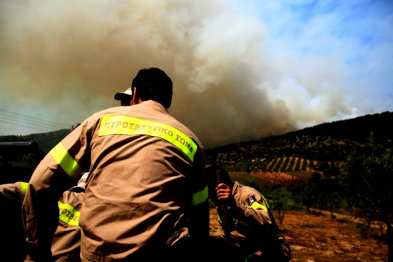 Φωτιά στο Μαραθώνα και τη Σαλαμίνα   Newsit.gr