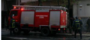 Φωτιά σε διαμέρισμα στα Μελίσσια