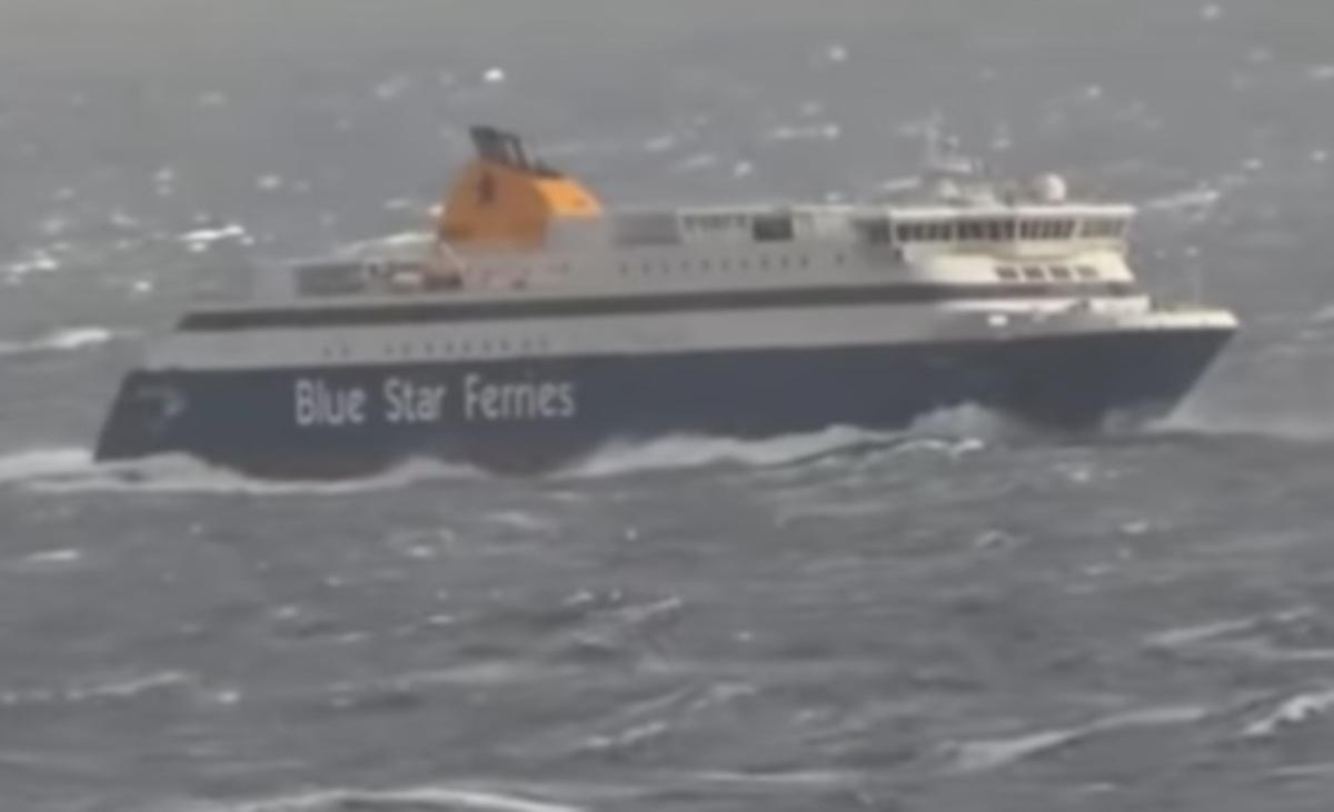 Σύρος: Να γιατί λένε πως ο καλός ο καπετάνιος φαίνεται στη φουρτούνα [vids] | Newsit.gr