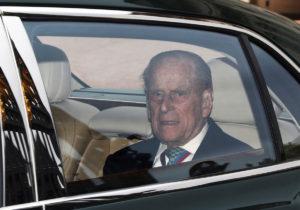Η πρώτη δημόσια εμφάνιση του Πρίγκιπα Φίλιππου μετά την παραίτηση [pics]