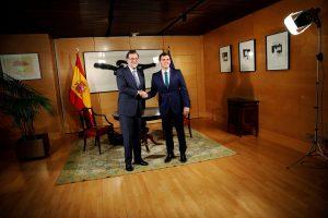 Πρώτο βήμα για σχηματισμό κυβέρνησης στην Ισπανία – Ικανοποιημένος ο Ραχόι