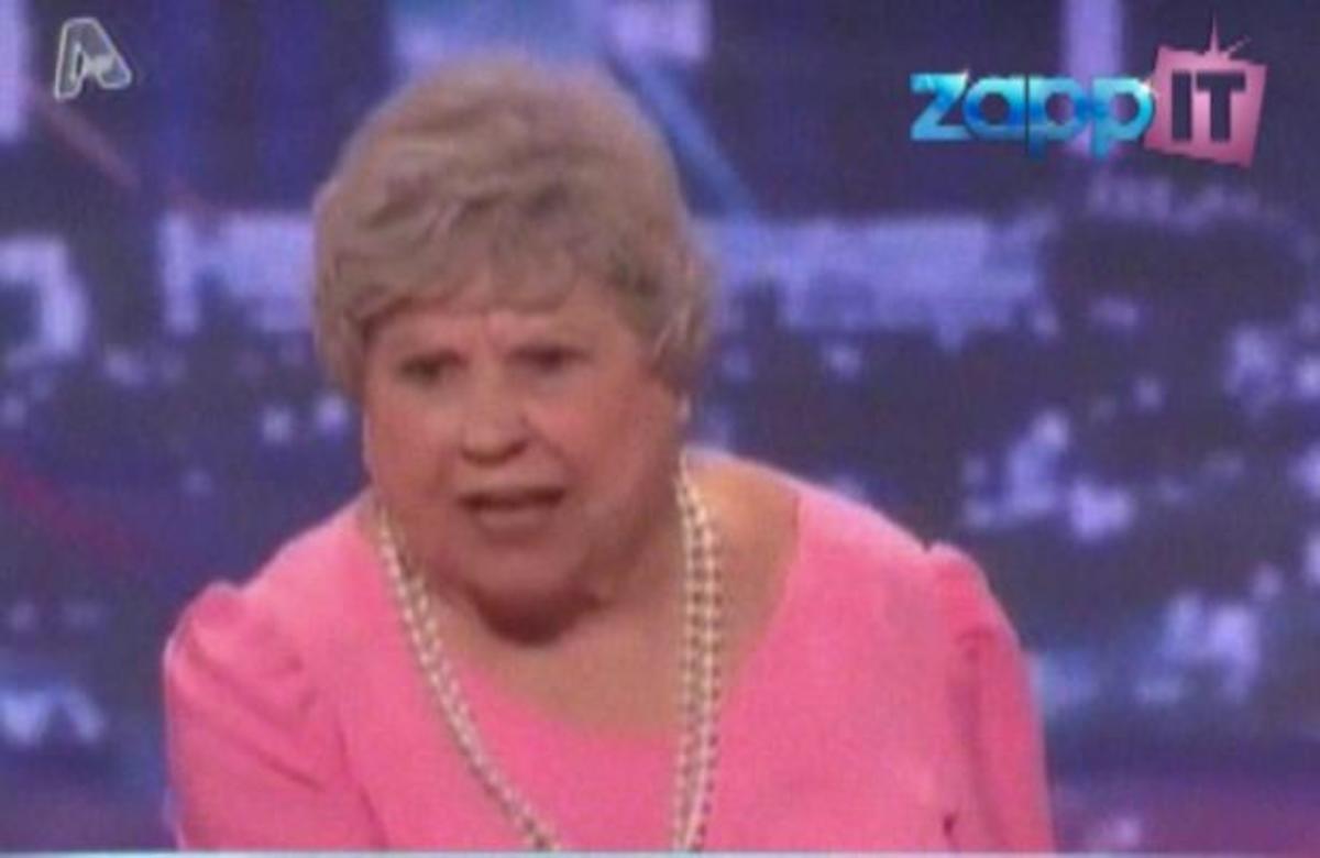 Μια 80χρονη… ραπάρει στην εκπομπή «Αμερική έχεις ταλέντο»! | Newsit.gr