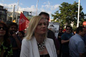 Ραχήλ Μακρή για σύλληψη Καλφαγιάννη: Ζήτω η Χούντα!