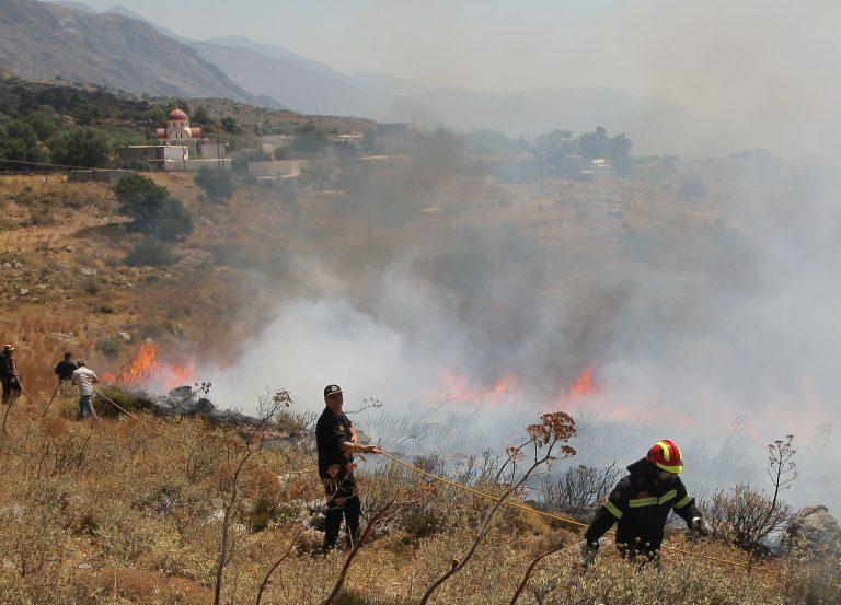 Υπο έλεγχο δύο φωτιές στο Ρέθυμνο | Newsit.gr
