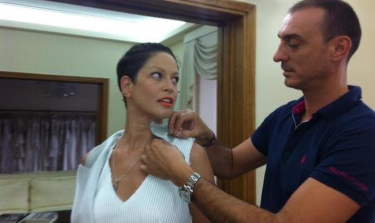 Ρέα Τουτουντζή: Kάνει πρόβα νυφικού λίγες μέρες πριν τον γάμο! | Newsit.gr