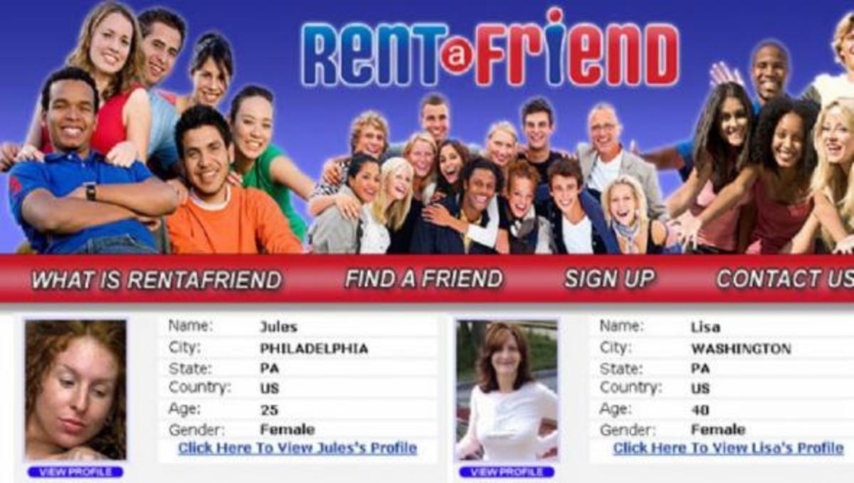 Αν δεν έχετε φίλους, μπορείτε να νοικιάσετε μερικούς! | Newsit.gr