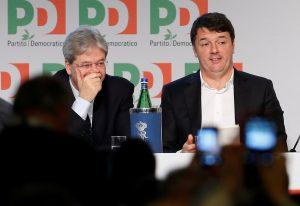 Ρέντσι: Η απόφαση για πρόωρες εκλογές ανήκει στον πρωθυπουργό Τζεντιλόνι