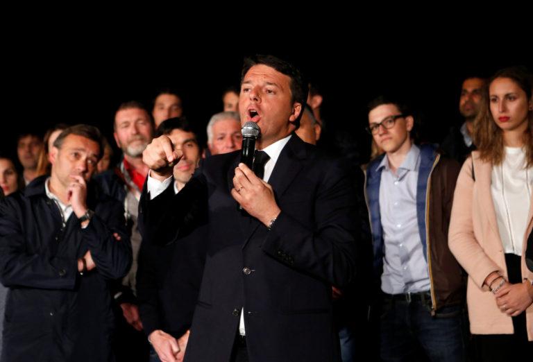 Ο Ρέντσι θέλει ταυτόχρονη διεξαγωγή εκλογών σε Ιταλία και Γερμανία