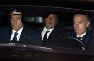 Ο Ματέο Ρέντσι έφτασε στο προεδρικό μέγαρο για να υποβάλει την παραίτηση του