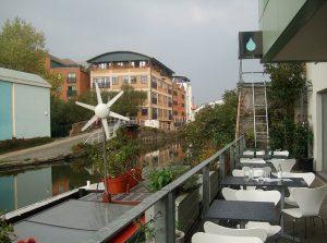 Το πράσινο εστιατόριο του Λονδίνου