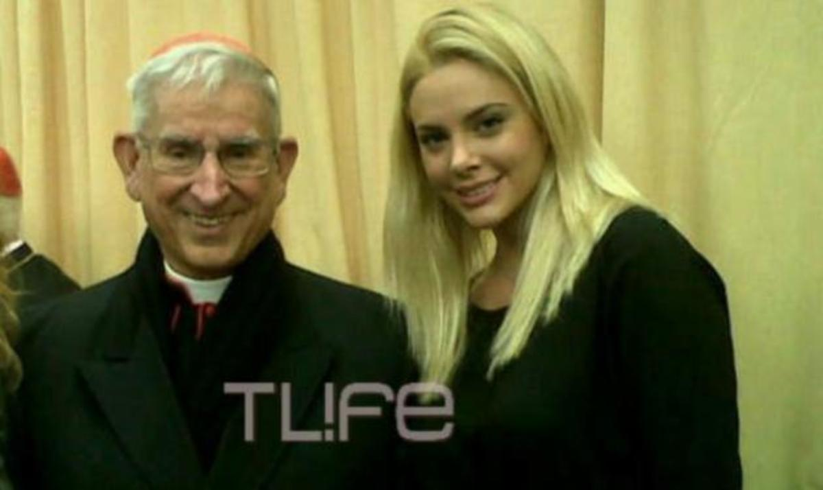 Η Ρία Αντωνίου στο Βατικανό! Ποιος ο λόγος της επίσκεψής της; Φωτογραφίες   Newsit.gr